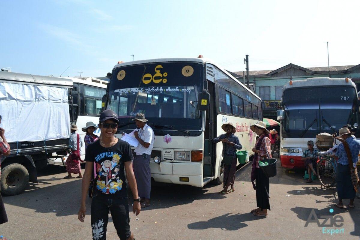 Vervoer myanmar