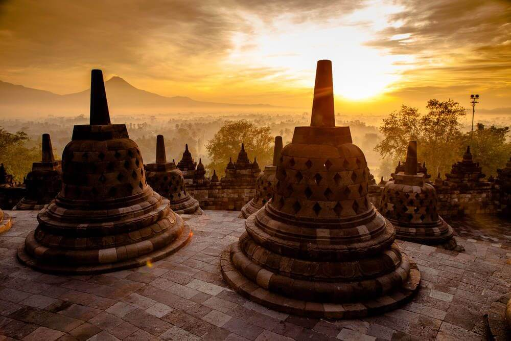 sunset tour Borobudur