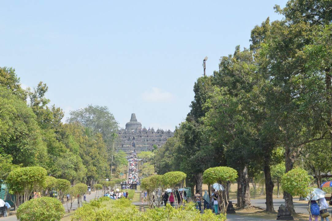 Ingang van de Borobudur