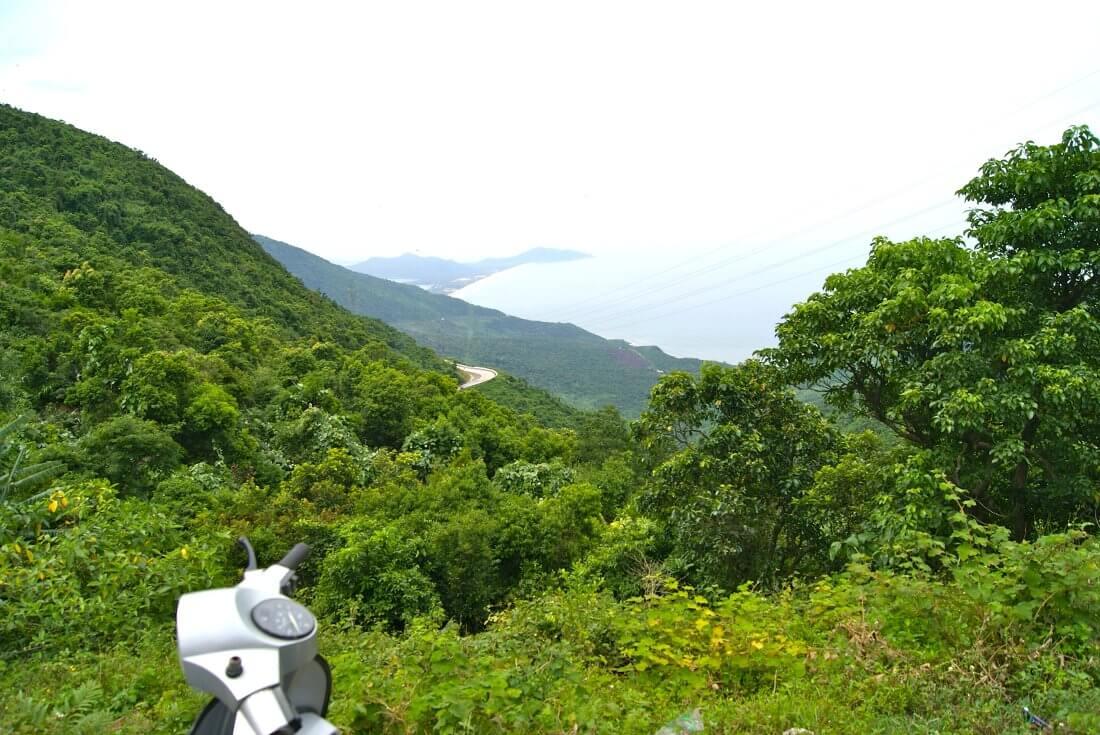 Hai Vann bergpas Vietnam