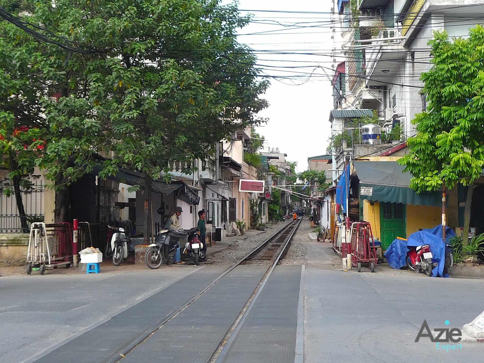 Trein in Hanoi
