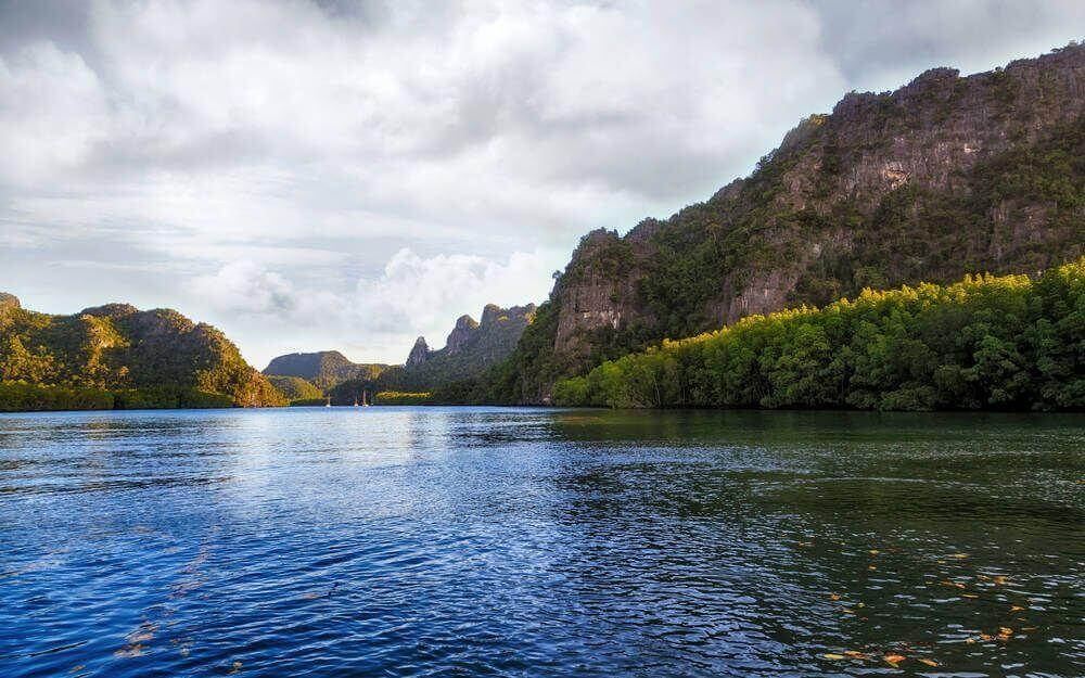 De kustrondom Langkawi