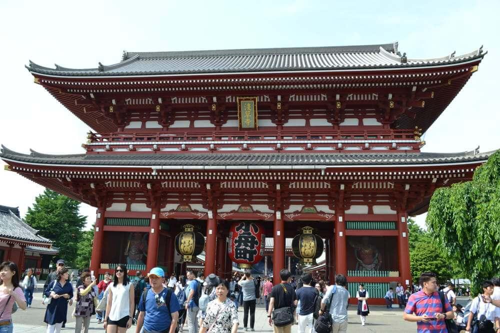 De Senso-Ji tempel