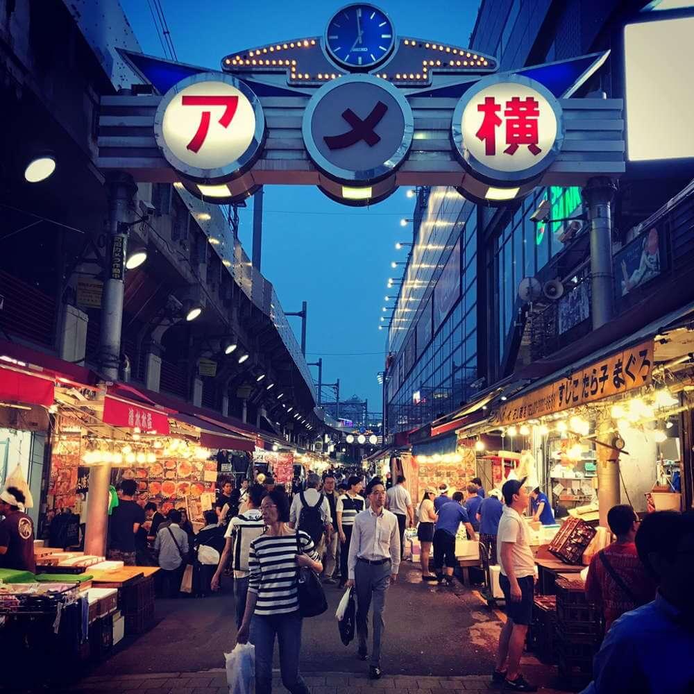 Ameyoko Street Tokyo