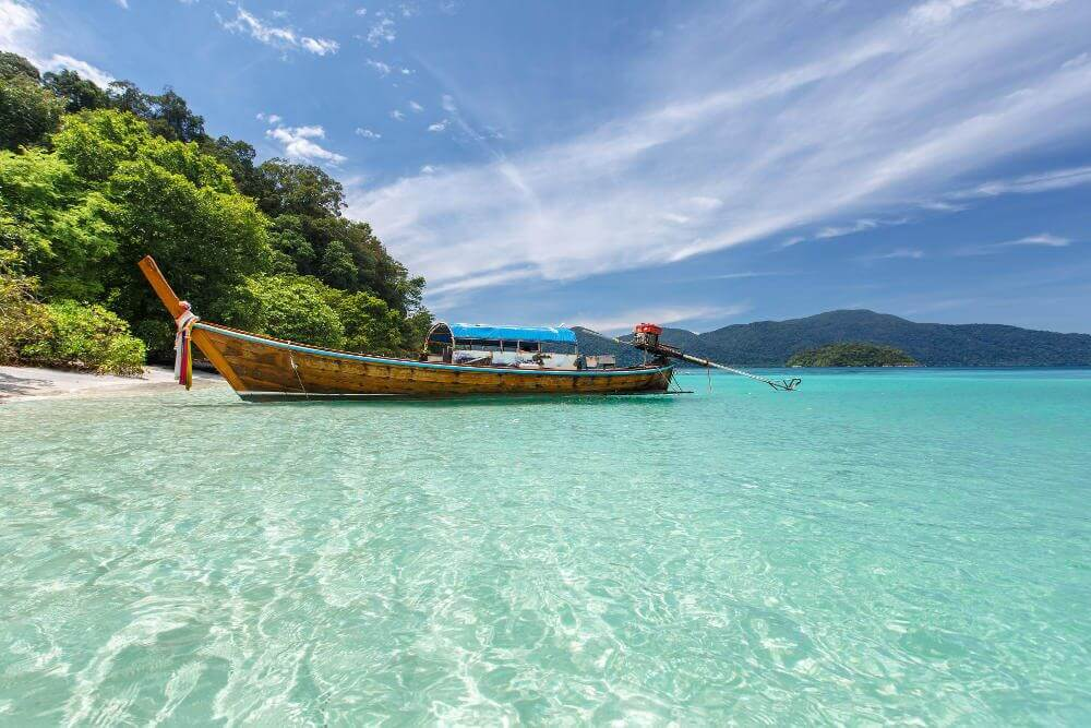 Stranden Thailand