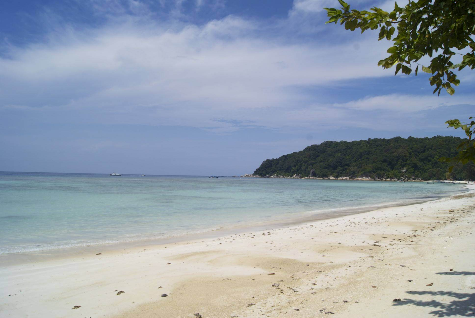 Strand op Perhentian Cecil