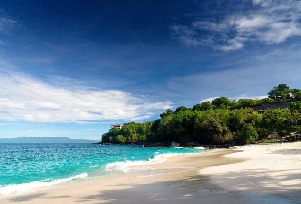 stranden op Bali