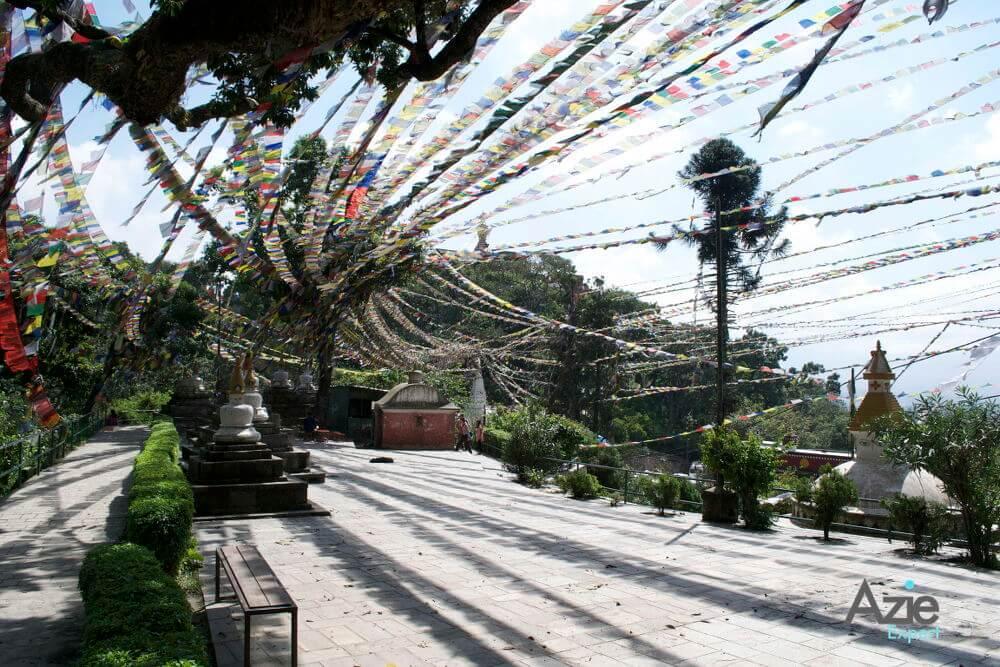 Monkey tempel Kathmandu