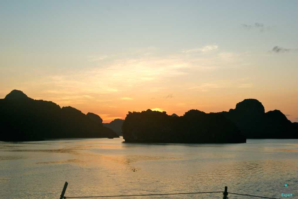 Zonsondergang Vietnam