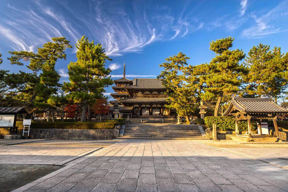 Horyu-ji Tempel