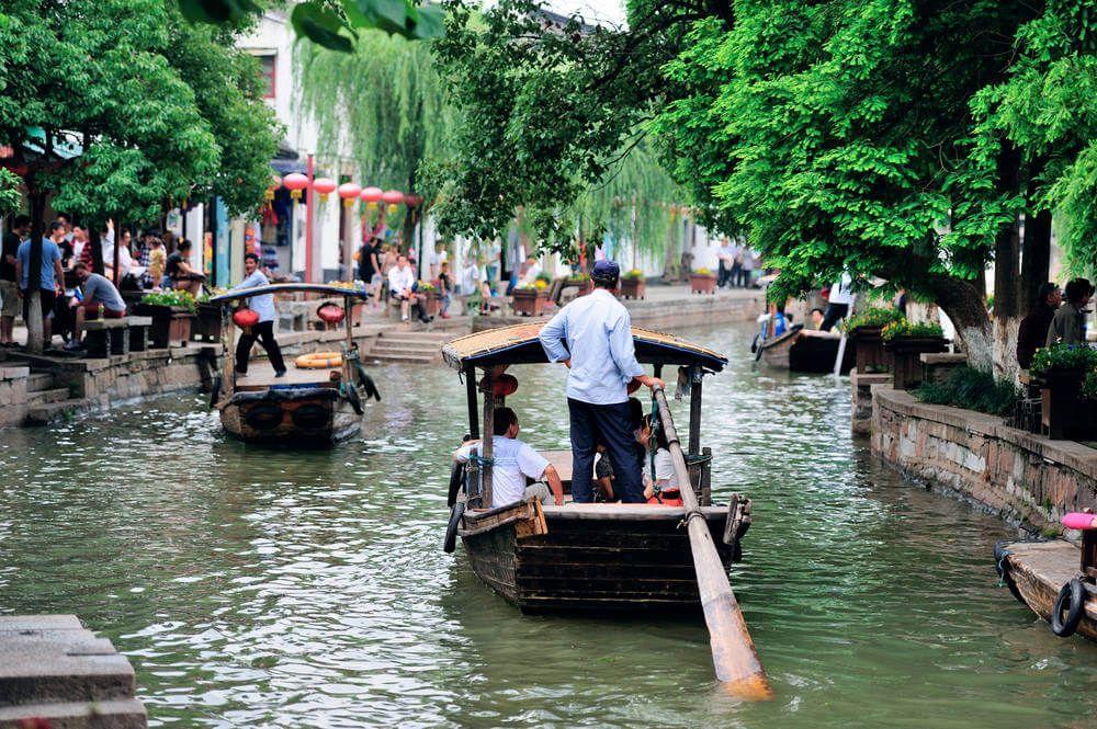 De kanalen van Zhujijiao