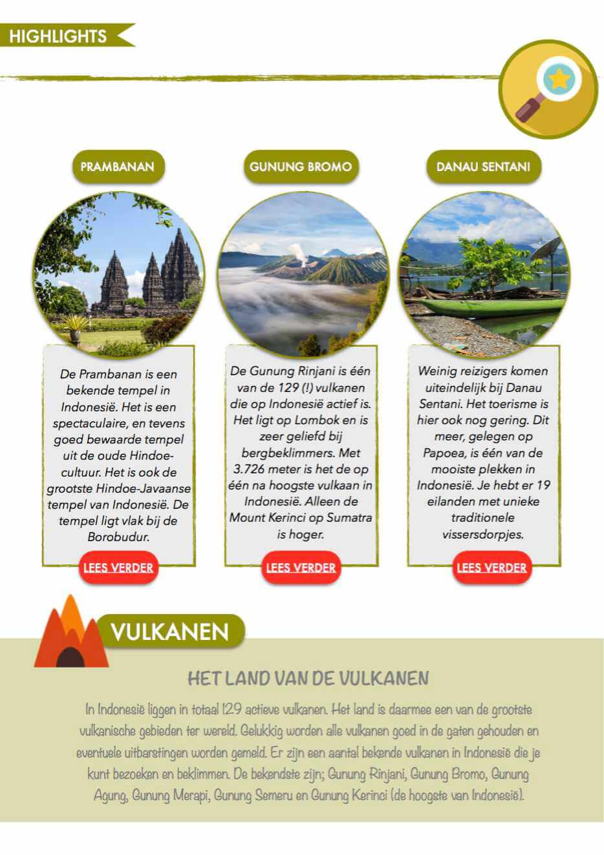 highlights indonesie reisgids