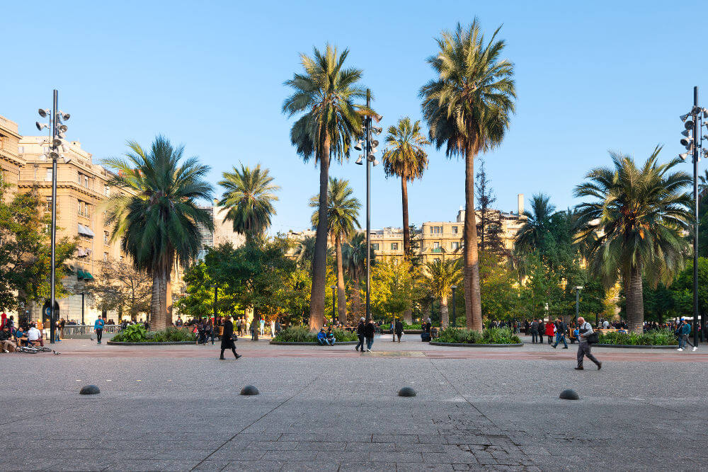 Plaza-de-Armas, Santiago