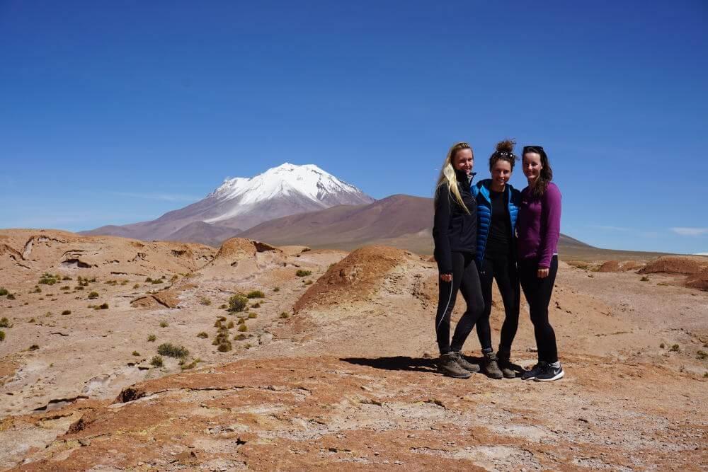 Valle Ollague Volcano