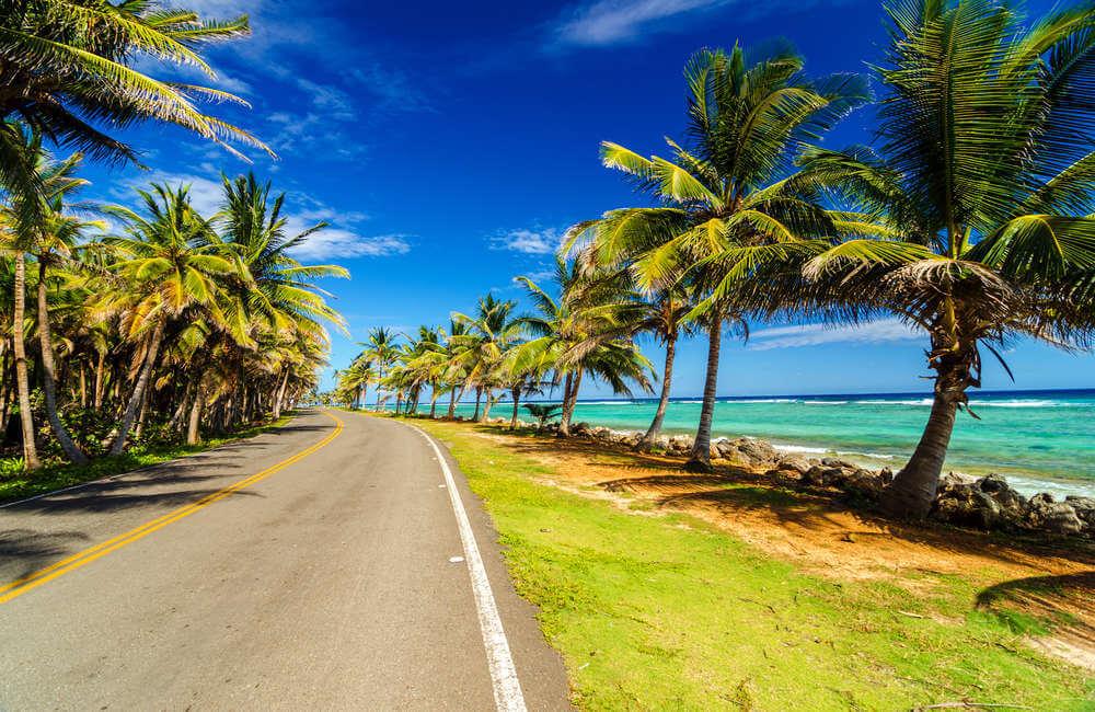 De wegen op San Andres
