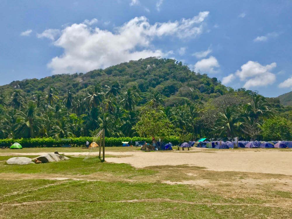 Camping Tayrona