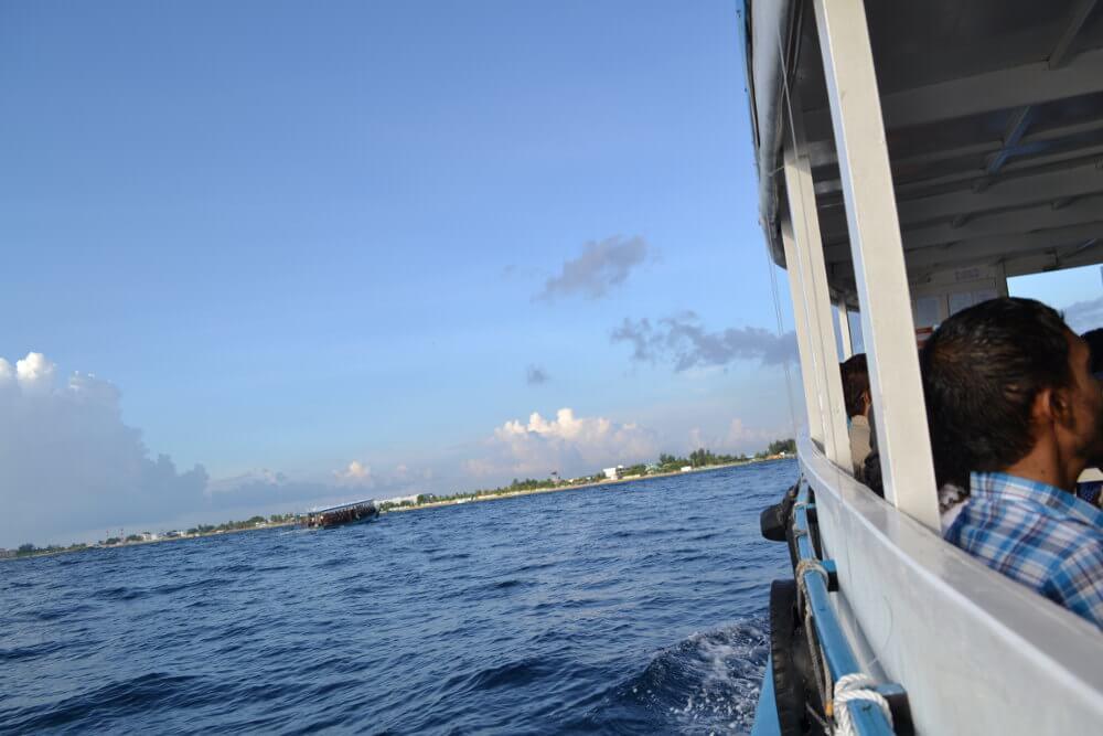 Boot Malediven