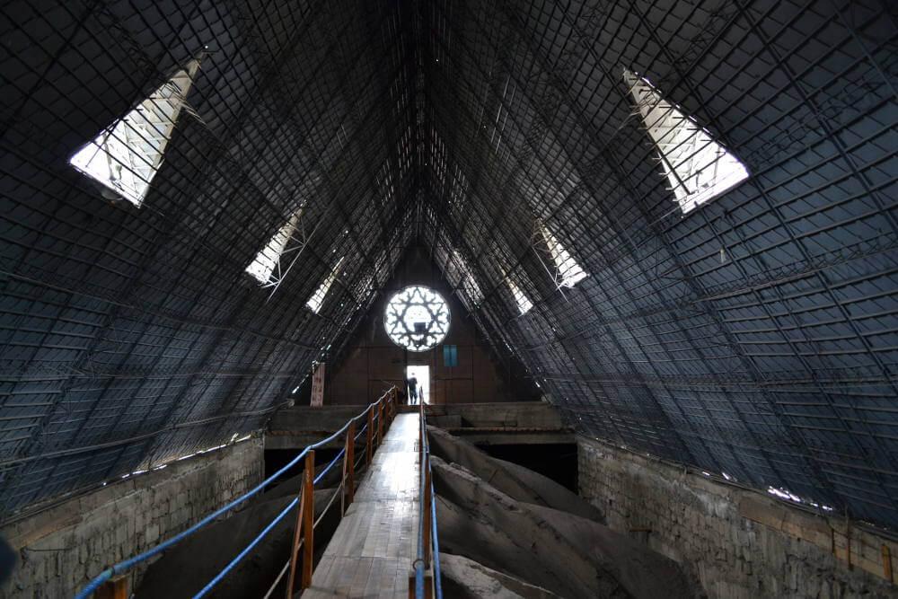 Het dak van Basilica del Voto Nacional