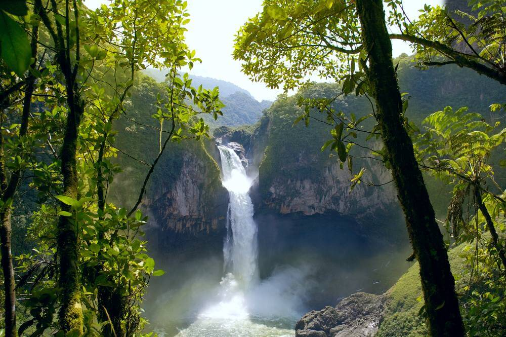 Tijdens een rondreis door Ecuador zie je o.a. de San Rafael falls