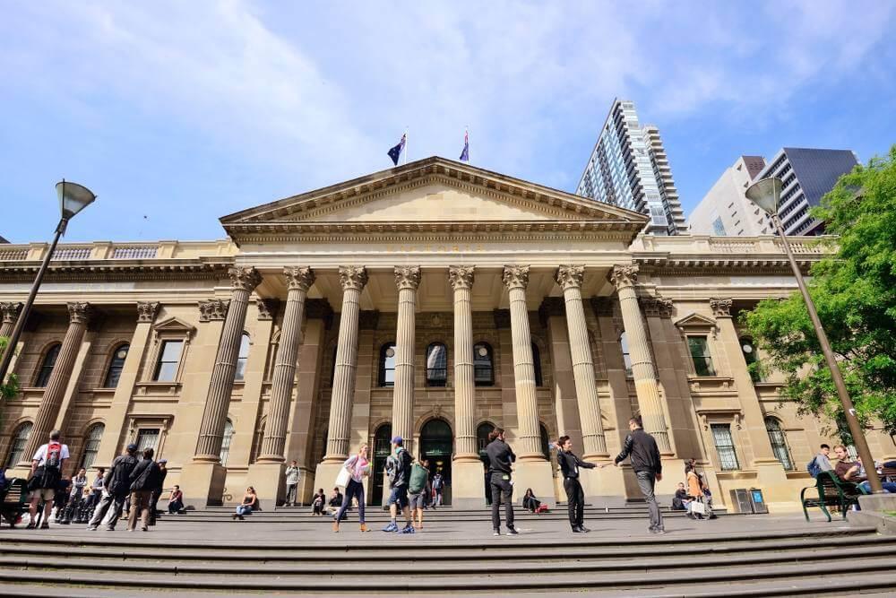 state liberary Victoria