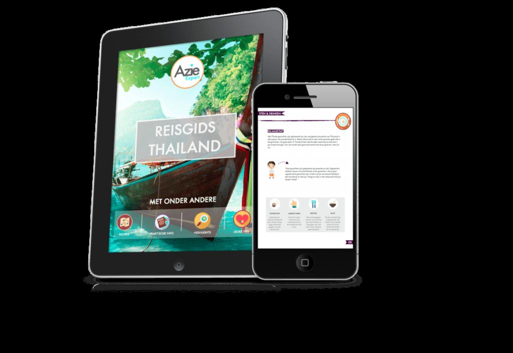 digitale reisgids thailand