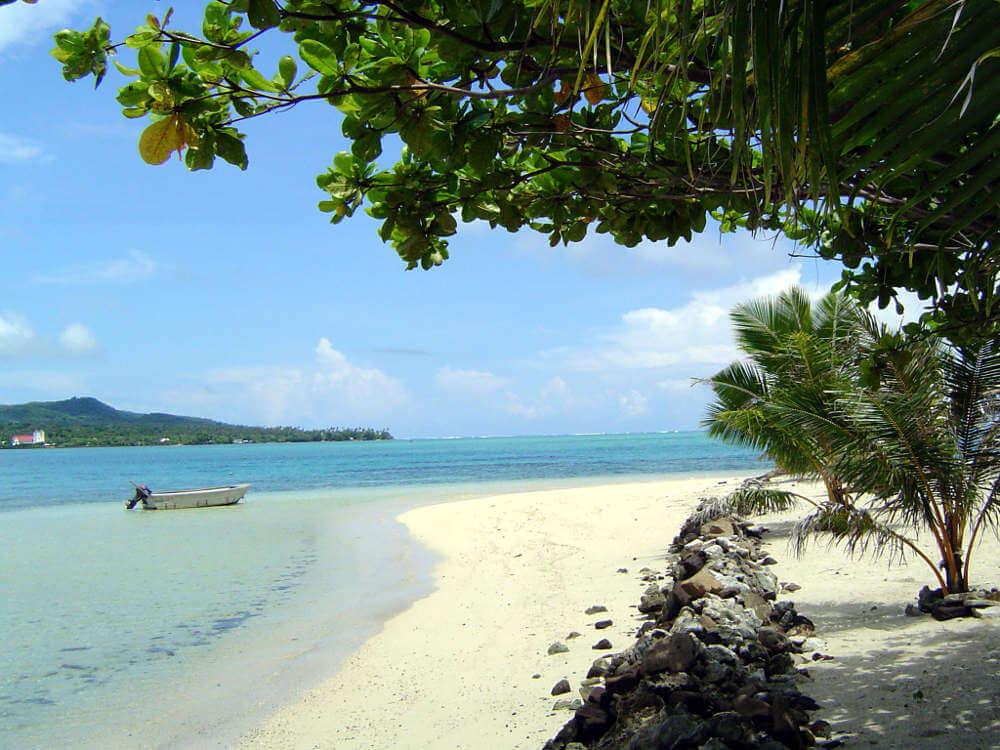 Namua Island op Samoa