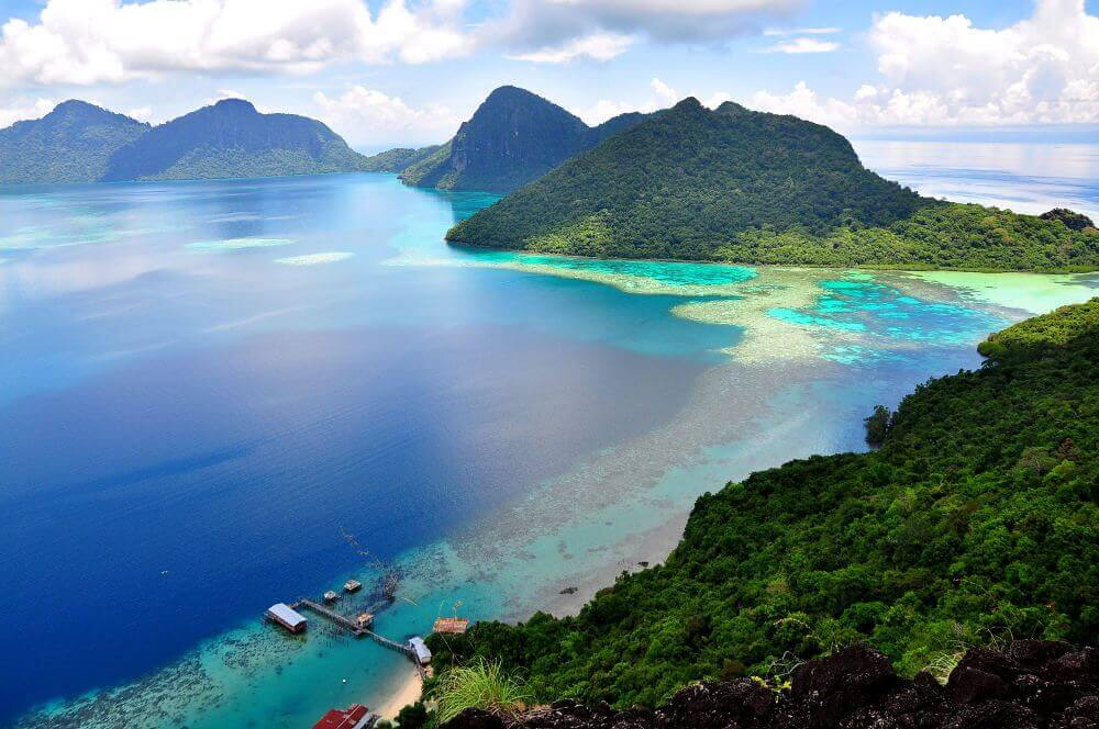 Tun Sakaran op Borneo