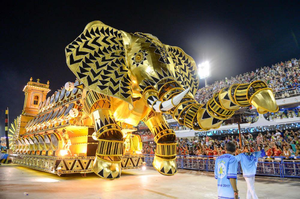 Carnavallen in Rio