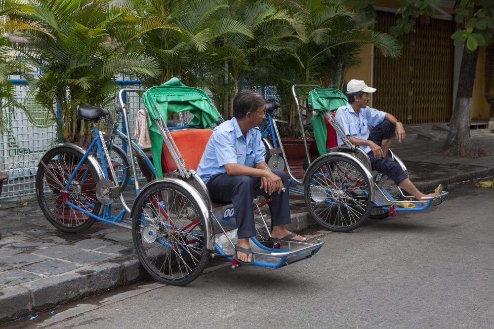 Fietstaxi in Hoi An