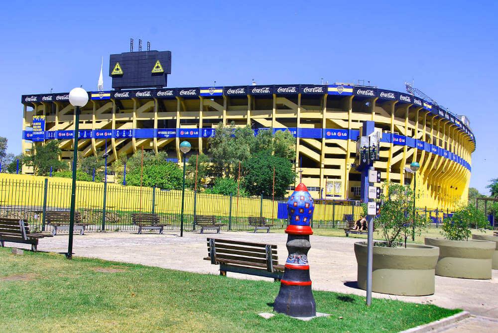 Voetbalwedstrijd Zuid Amerika