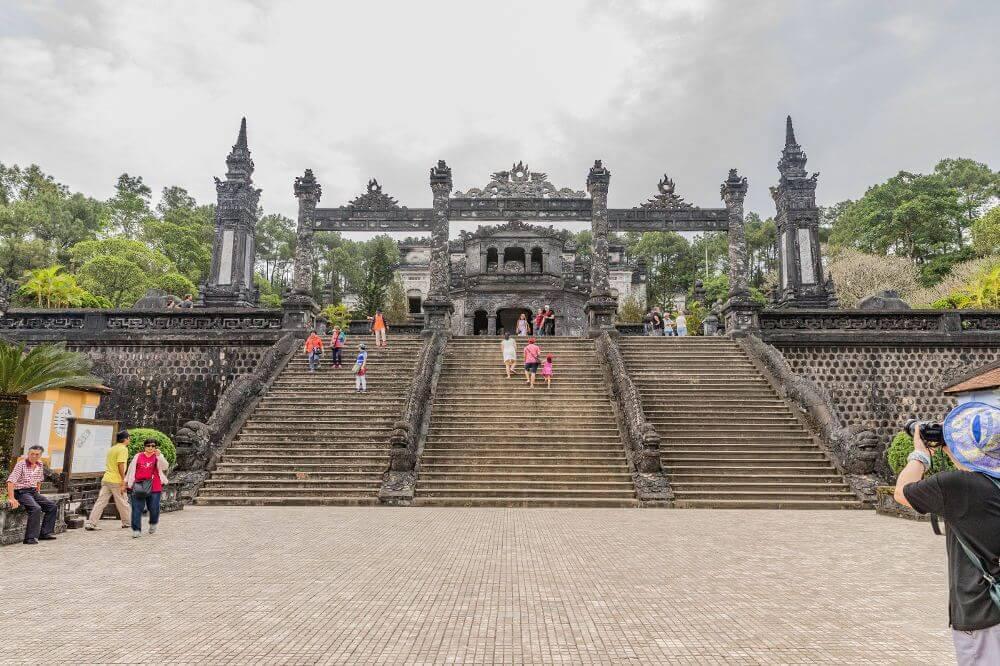 De Khai Dinh Tombe Hue