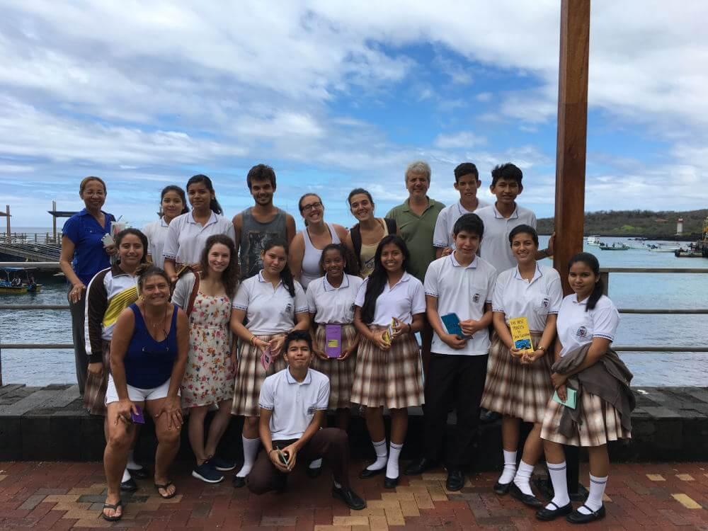 Vrijwilligerswerk op de Galapagos eilanden