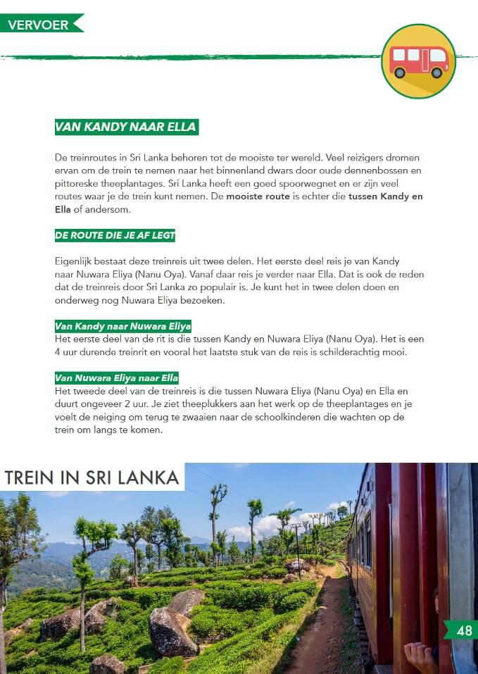 vervoer Reisgids Sri Lanka