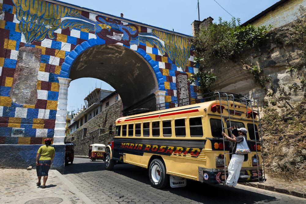 Vervoer Guatemala