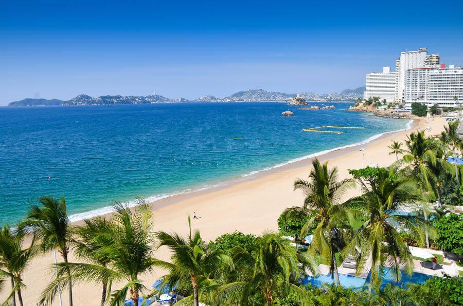 Acapulco mooiste stranden Mexico