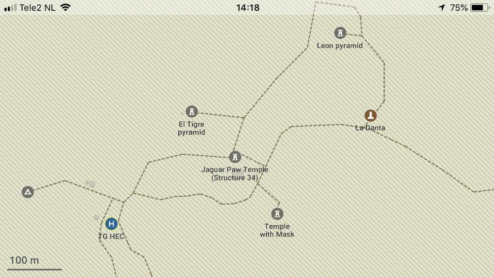 maps.me view el mirador