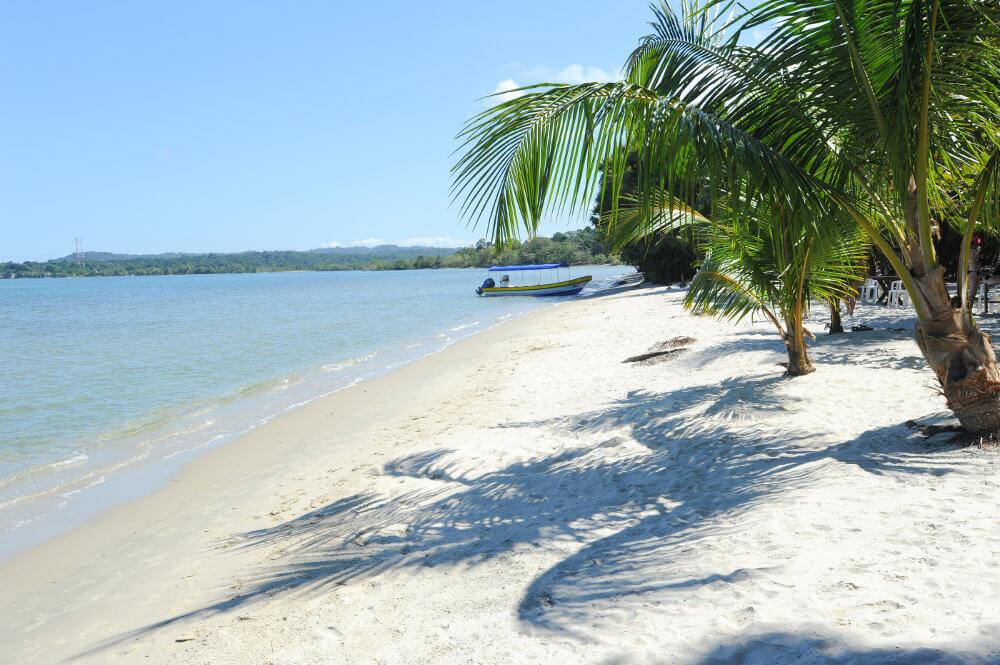 Stranden van Guatemala