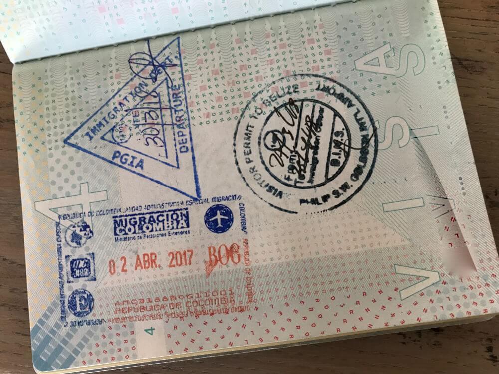 Visum voor Belize