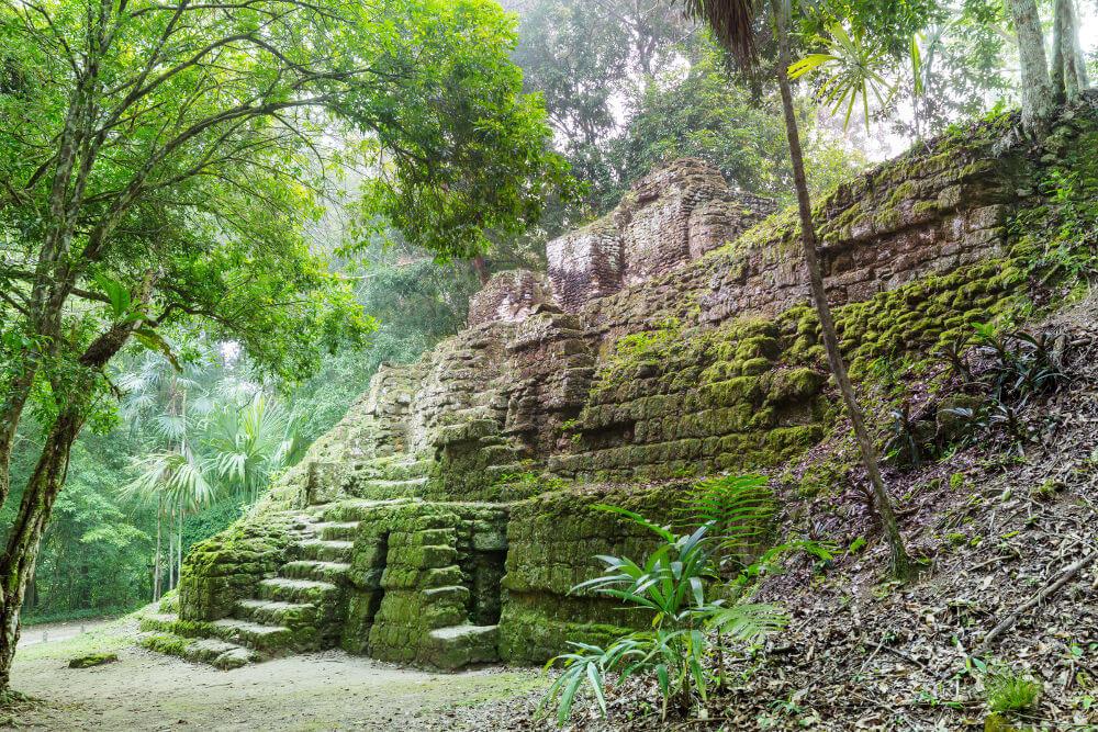 Tempels van El Mirado