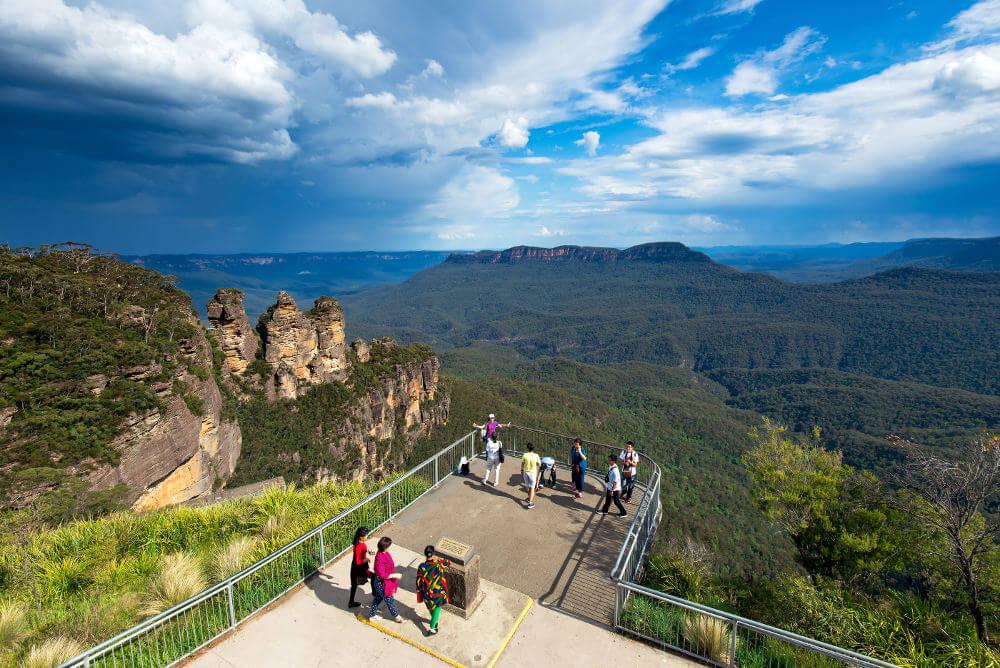 Uitzicht bij Katoomba