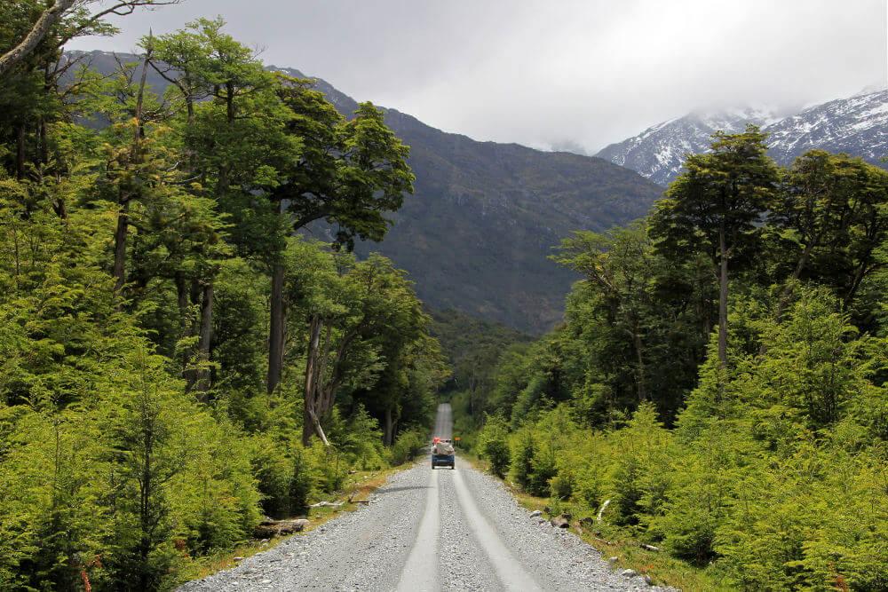 Carretera Austral, Patagonië