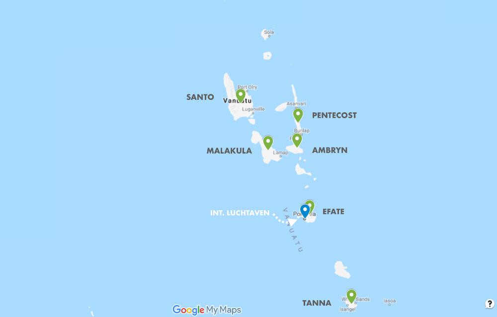 Eilanden Vanuatu