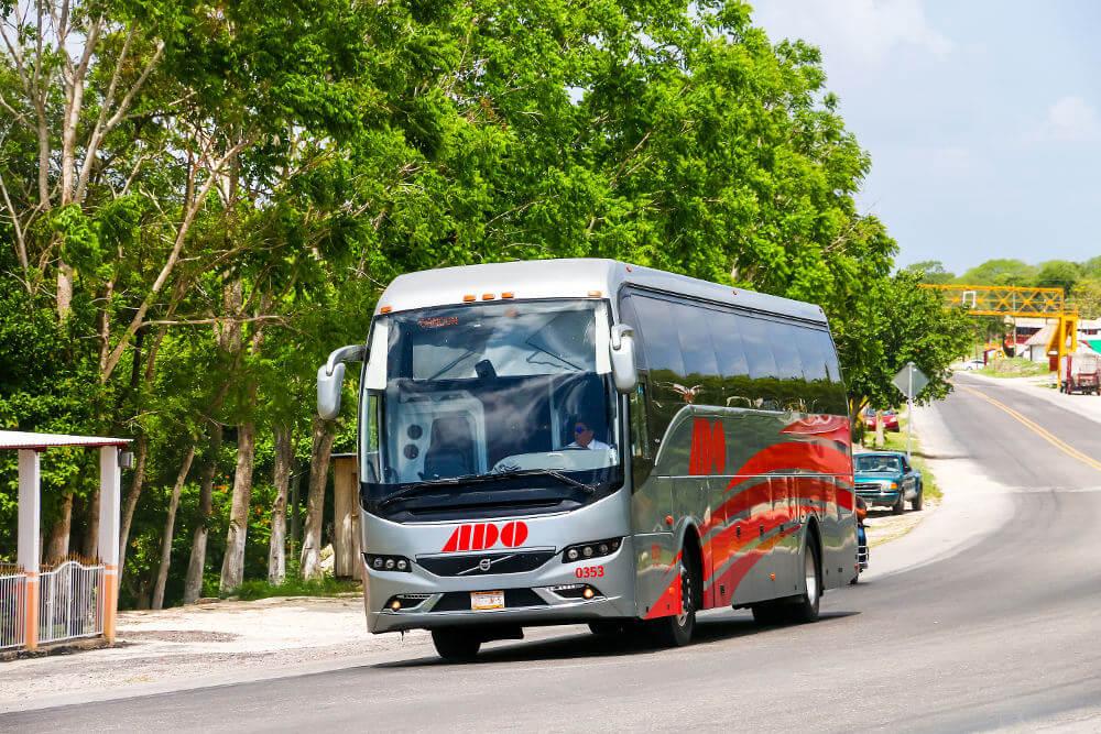 route door Yucatan
