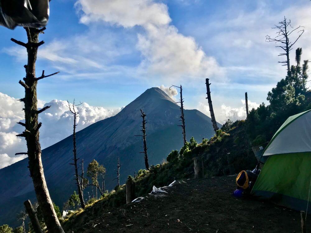 Base camp acatenango hike