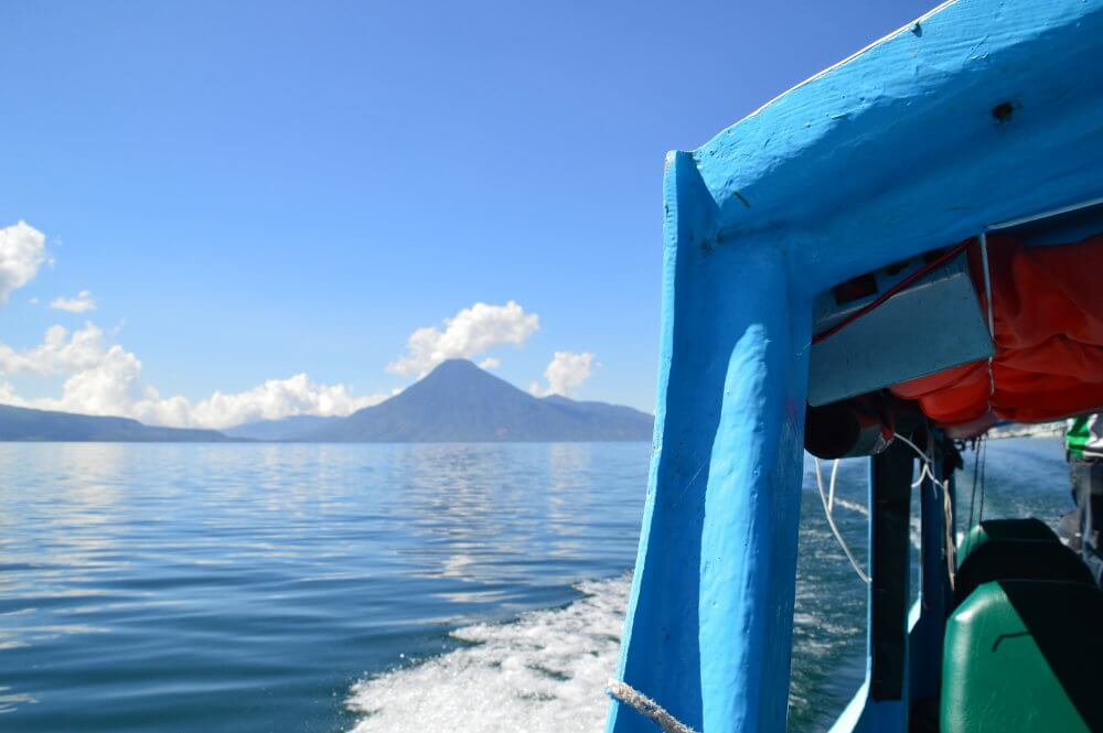 Boot Lake Atitlan