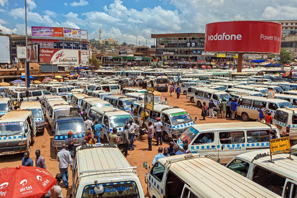Vervoer in Oeganda