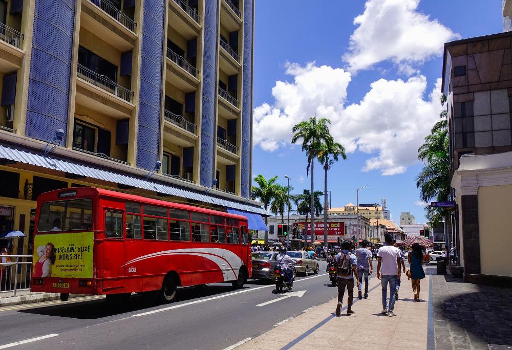 Budget voor Mauritius