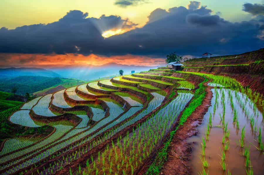 Chiang Mai landschap