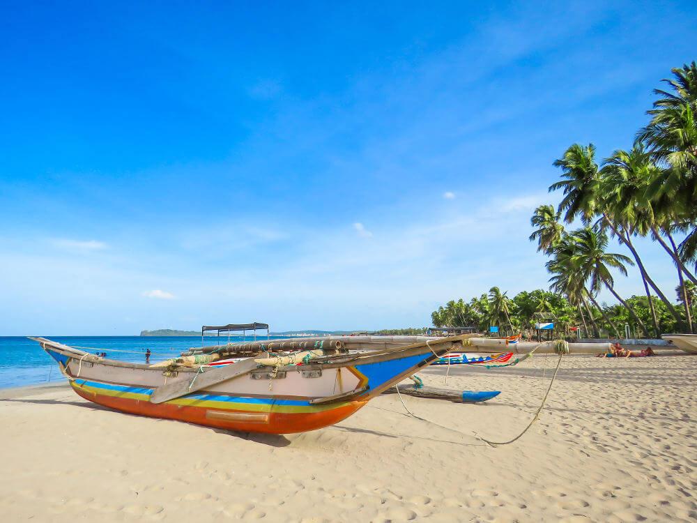 Stranden Sri Lanka