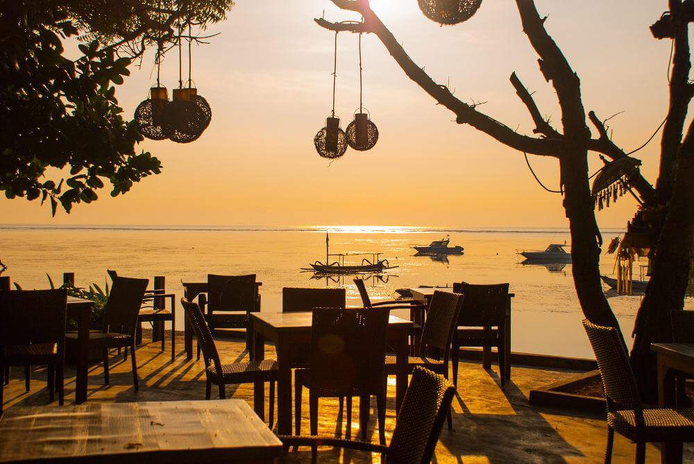 stranden van Bali
